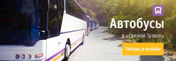Автобусы в «Связной Трэвел»: теперь и онлайн!