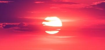 А в Воркуте красивые закаты…