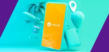 Мобильный интернет Yesim. Всегда на связи!